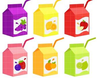 Etsy box digital clip. Juice clipart