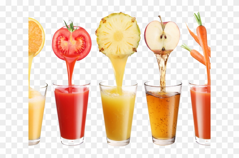 Mixed fasting therapy in. Juice clipart fruit mix