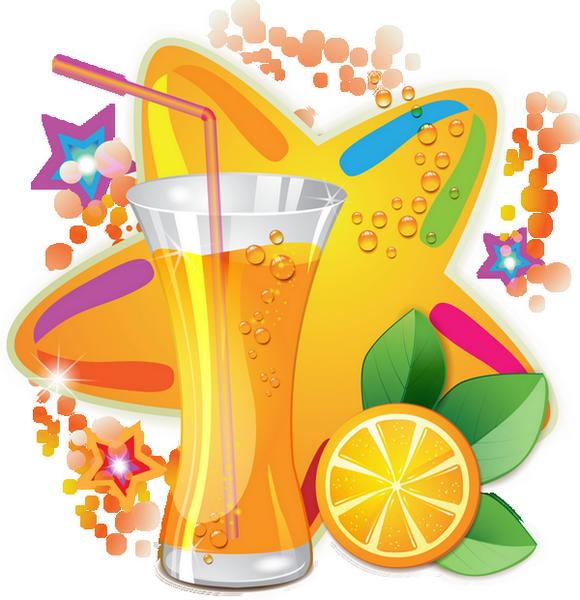 Juice clipart jus. Verre de d orange
