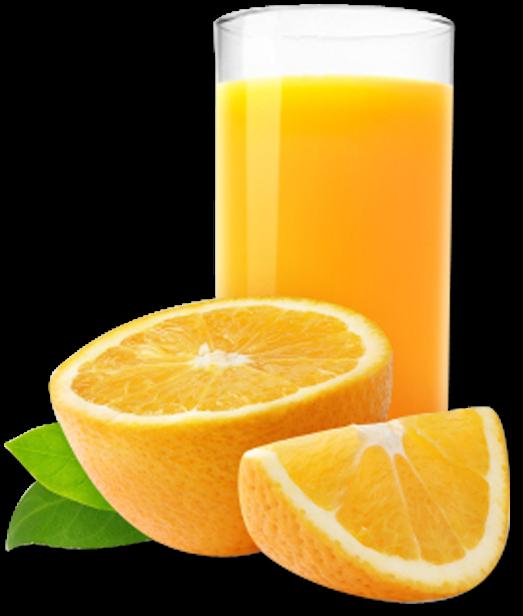 Orange glass png transparent. Juice clipart jus