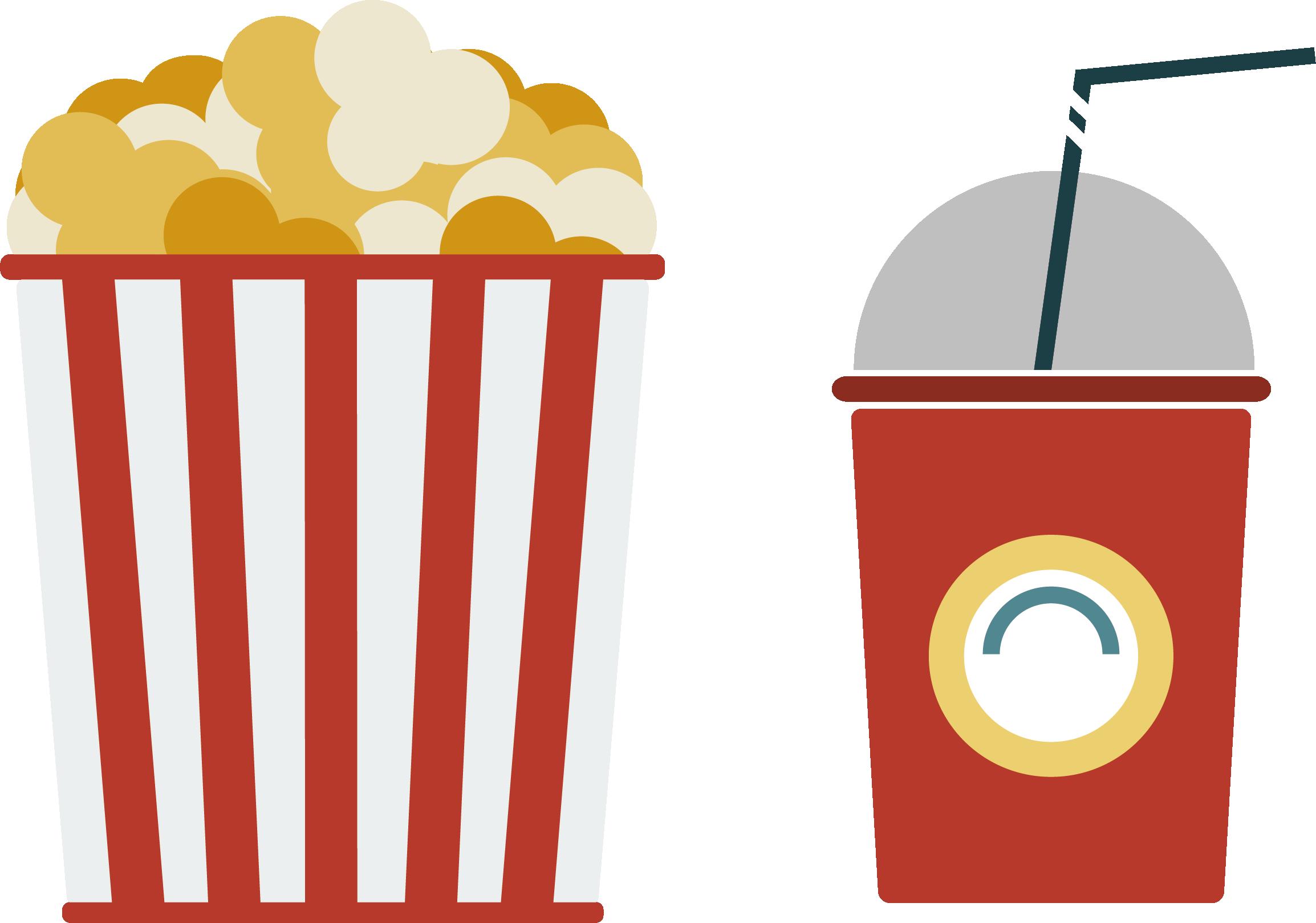 movie clipart coke