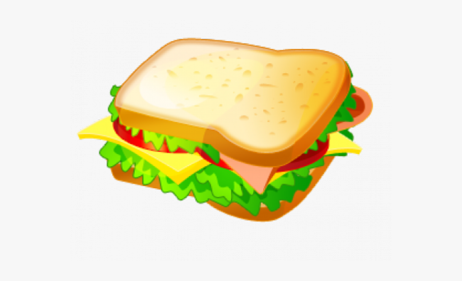 Food and drink vocabulary. Sandwich clipart juice