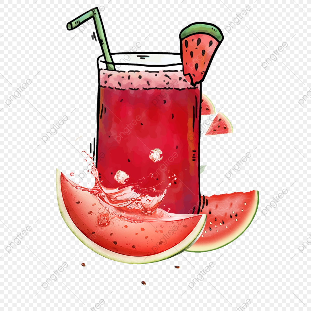 Watermelon clipart juices. Lemon juice poster afternoon