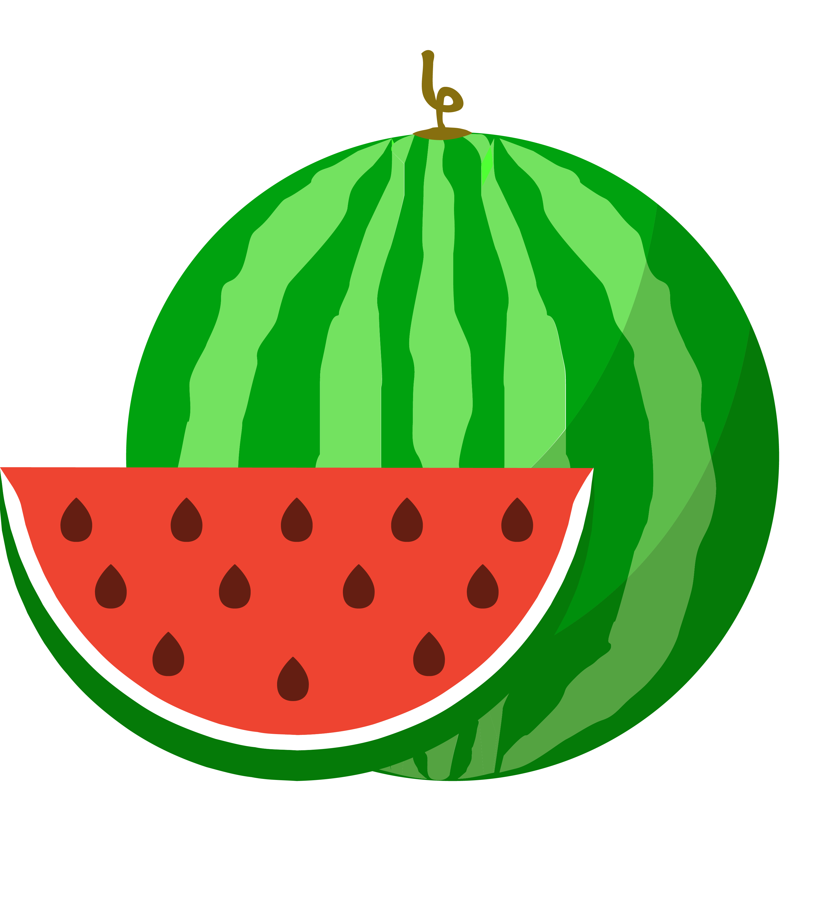 Icon png transprent free. Watermelon clipart cucumber melon