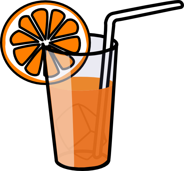 Breakfast juice . Glasses clipart smoothie