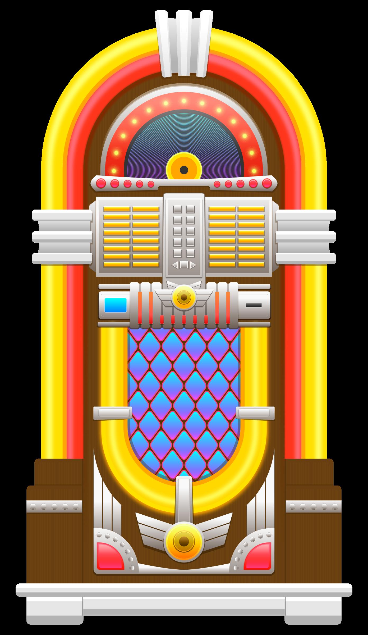 Jukebox clipart. Big image png