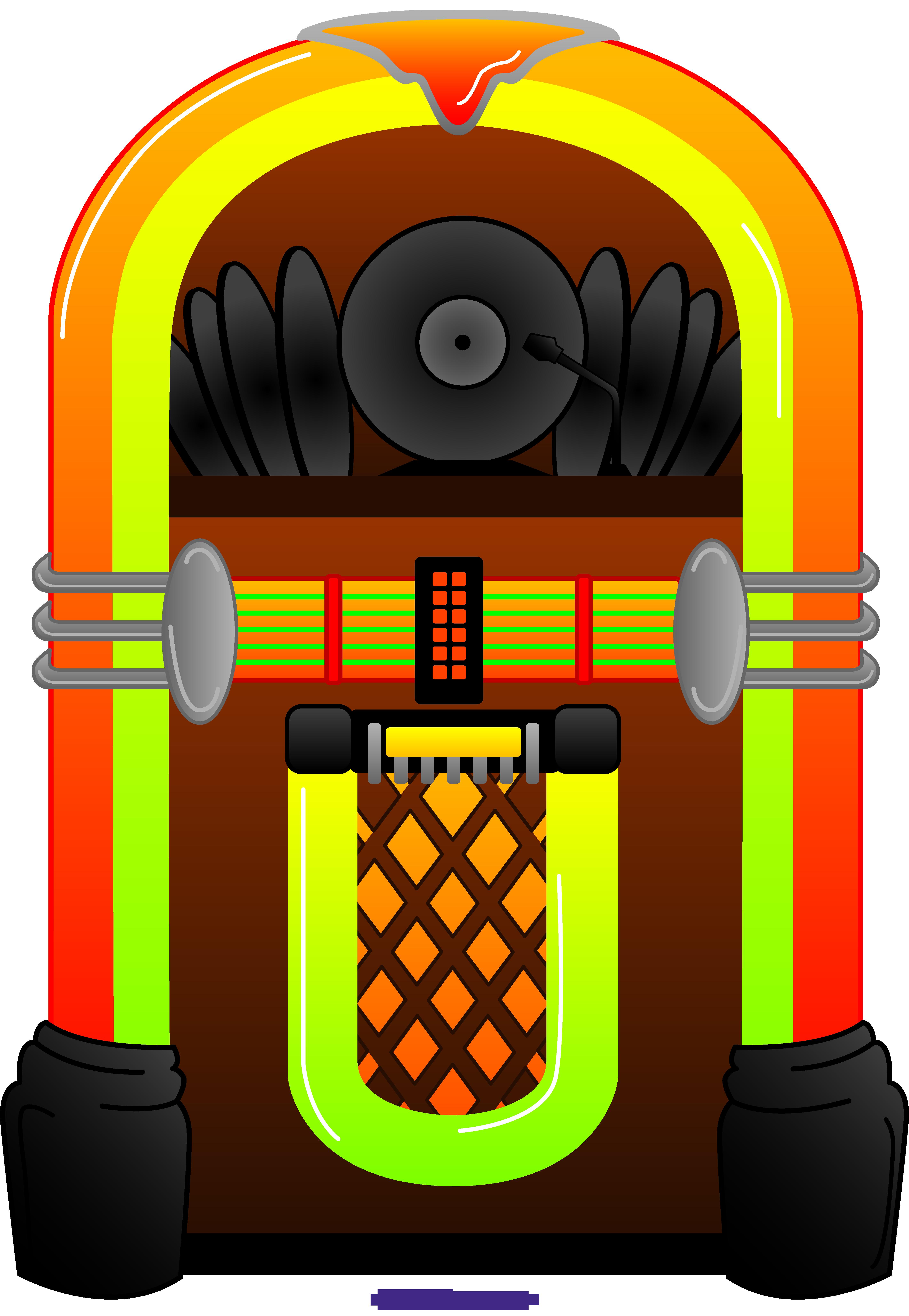 Sweet clip art. Jukebox clipart