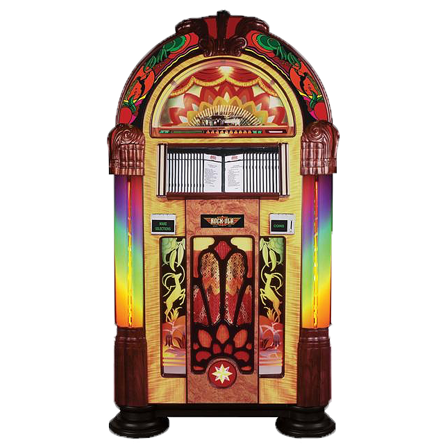 Best priced rock ola. Jukebox clipart nostalgia