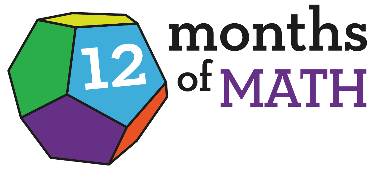 July clipart 12 month.  months of math