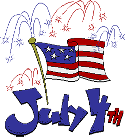 Free th of gifs. July clipart animated