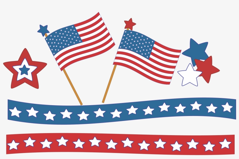July clipart banner usa. Th of banners png