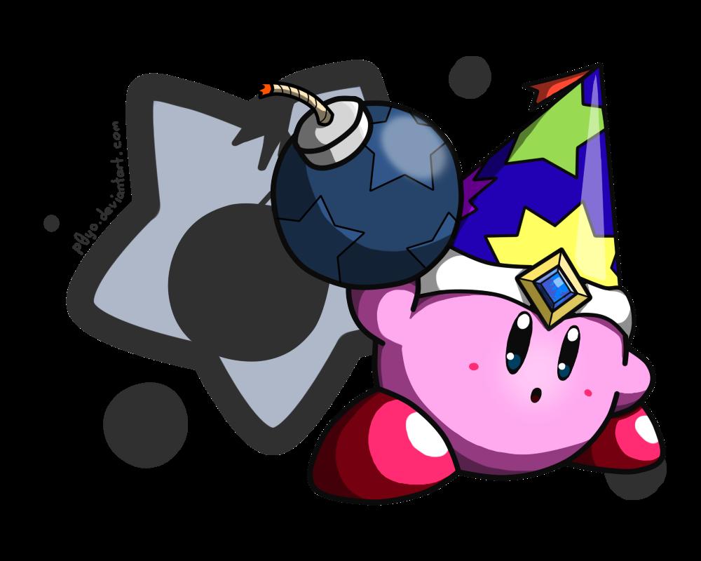 Kirby by p yo. July clipart bomb pop