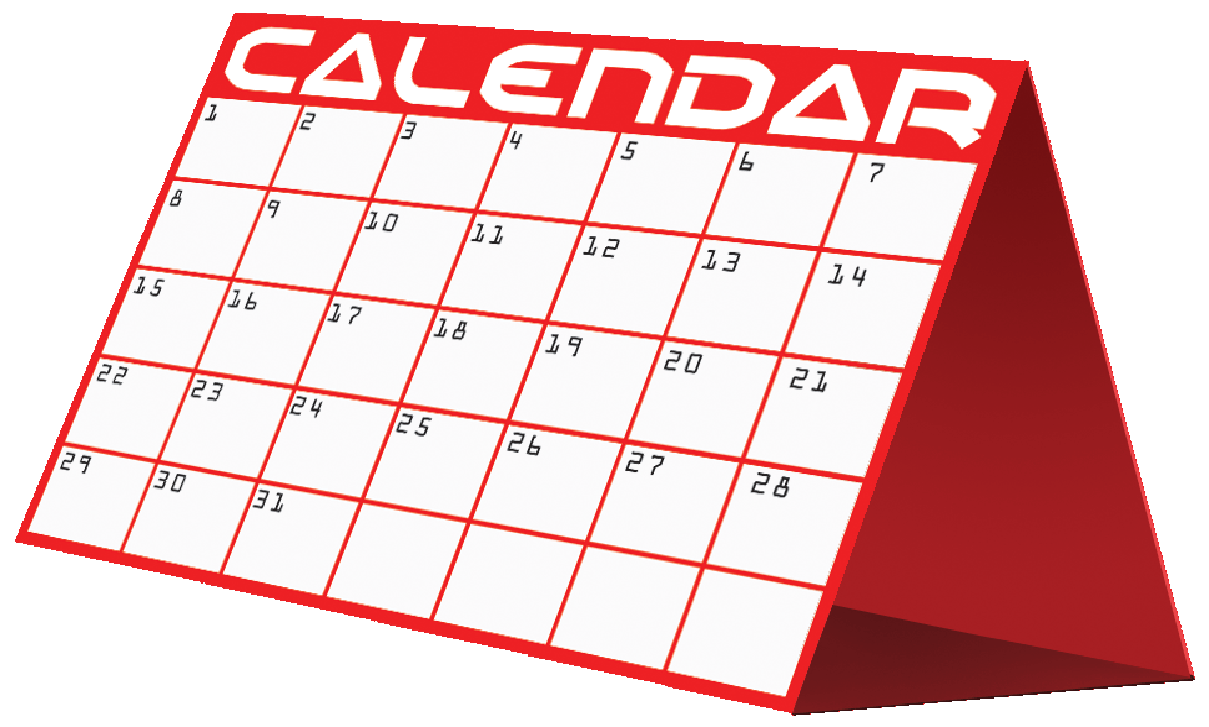 July clipart calendar. Free images pictures printable