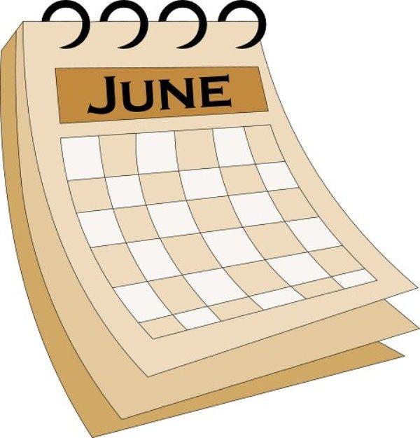 July clipart calendar. Pin on june