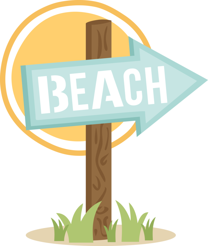 . July clipart camp sign