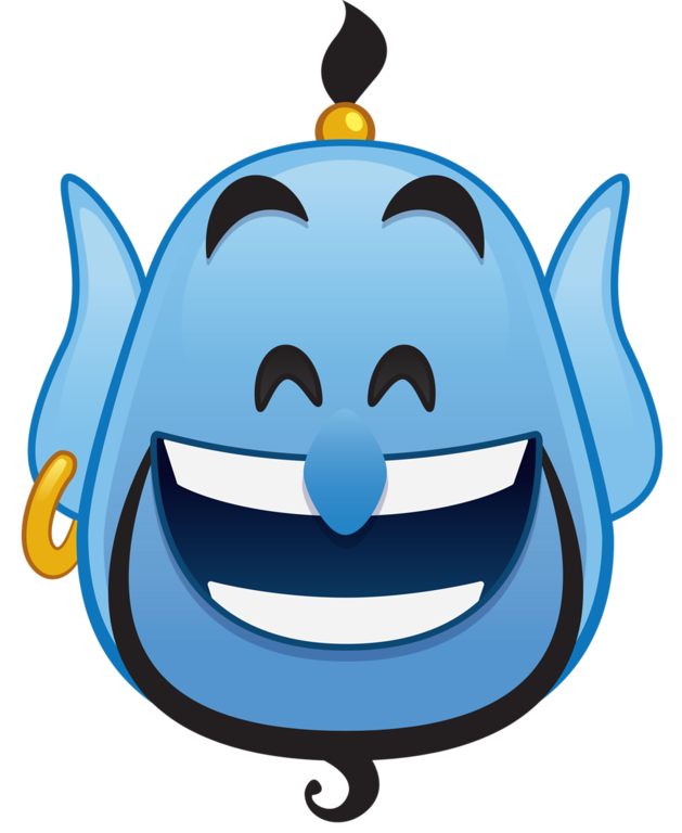 July clipart emoji. Disney blitz genie pinterest