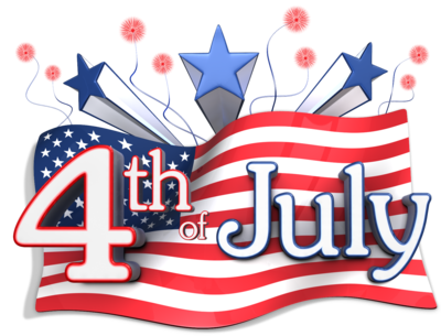 June clipart country. Forth of july station
