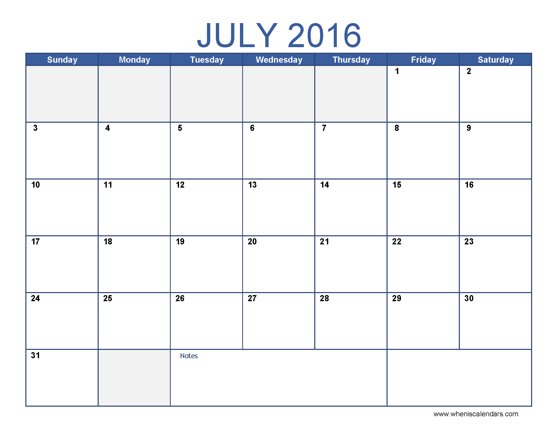 July clipart july 2016. Free calendar cliparts download