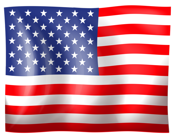 Usa flag america red. July clipart patriotic symbol