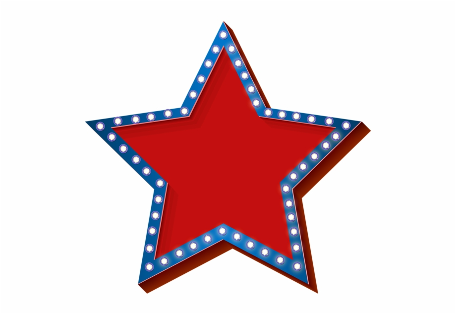 Stars png transparent background. July clipart patriotic symbol