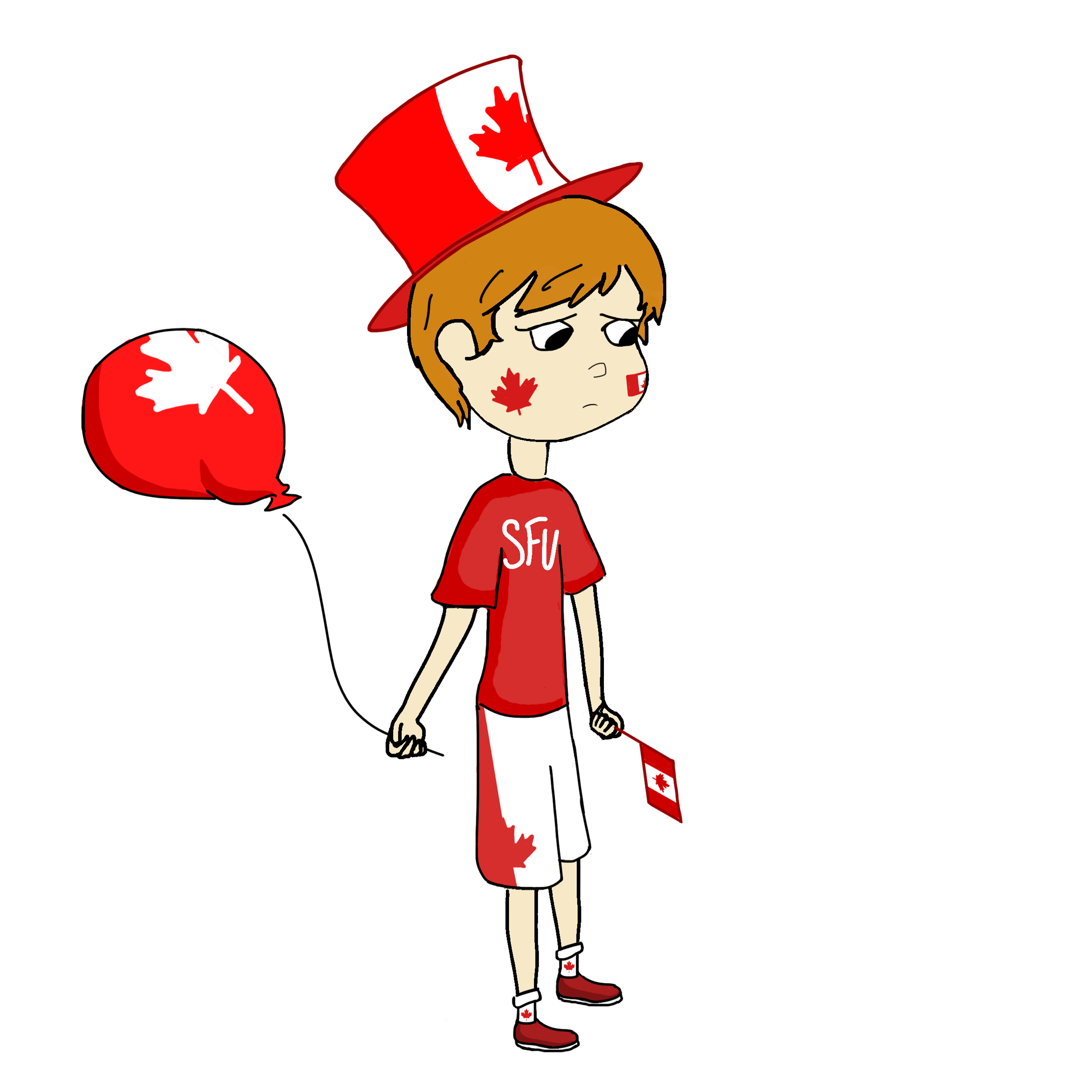 No big commemorations planned. July clipart person canadian
