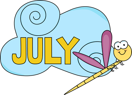 Free cliparts download clip. July clipart word july