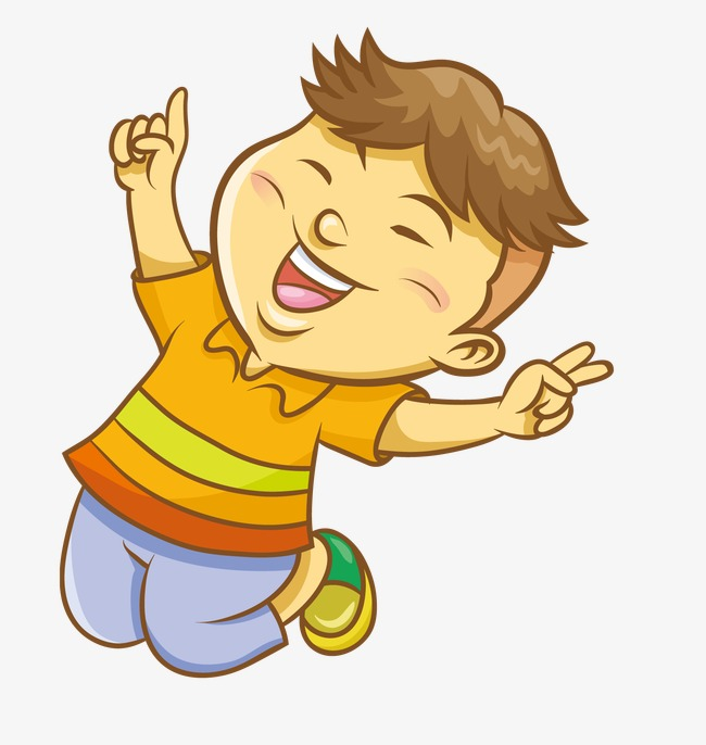 Boy lovely png image. Jump clipart
