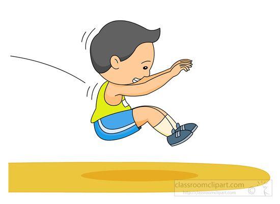 Long track field jpg. Jump clipart