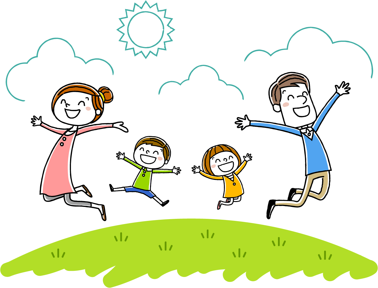 Parents clipart love care. About bay area smiles