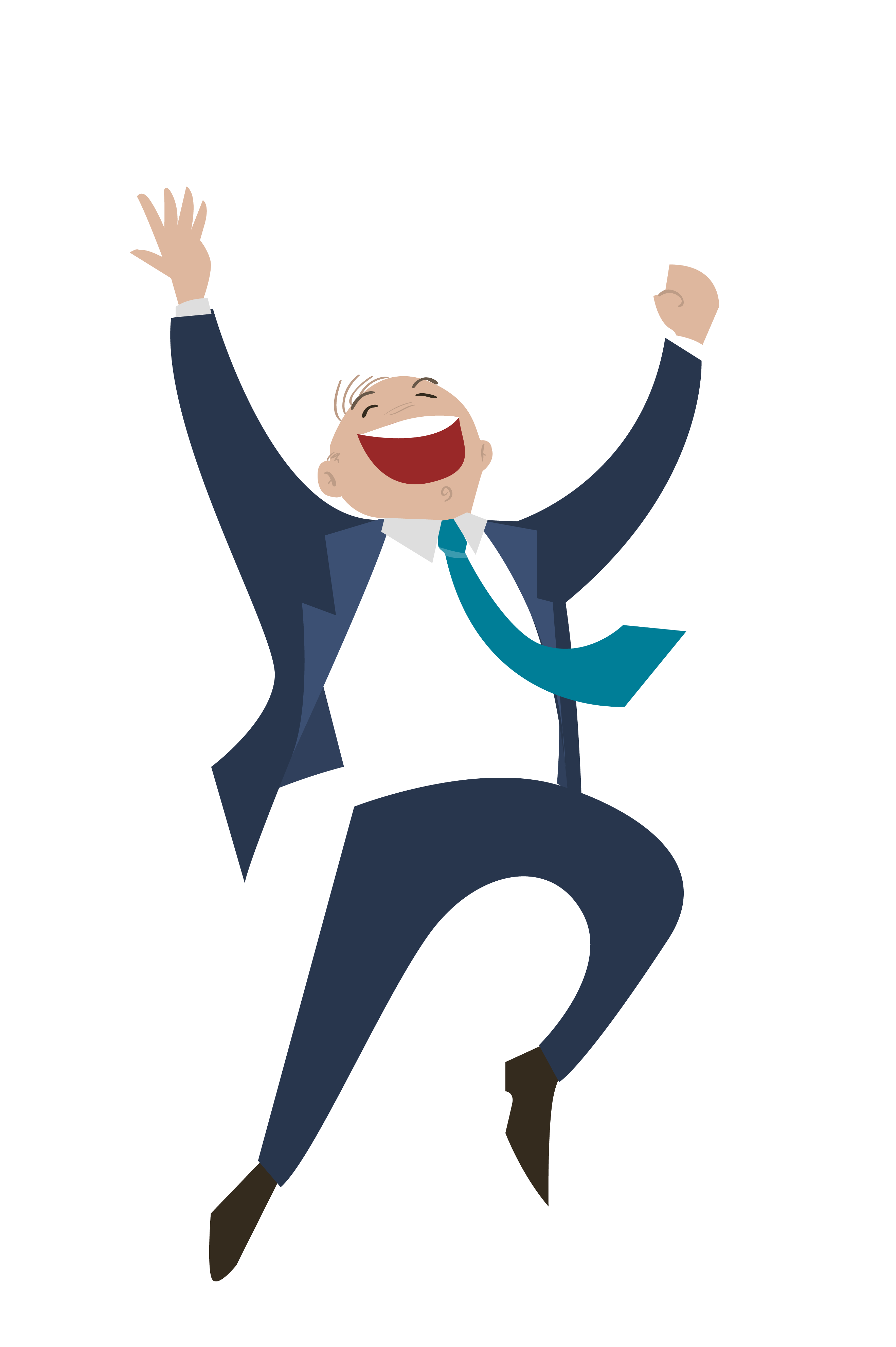 Jump clipart happy man. Business entrepreneurship startup company