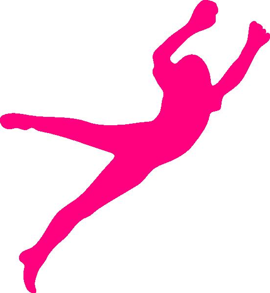 Girl dina clip art. Jump clipart long jumper