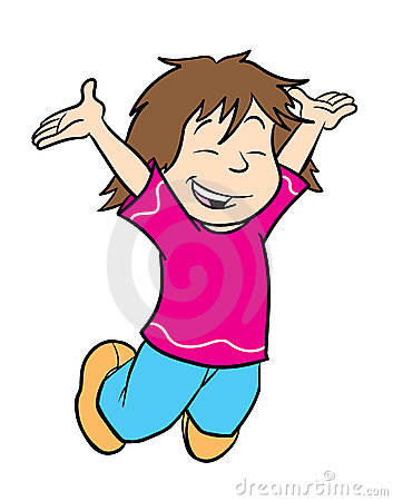 Jumping clipart. Woman