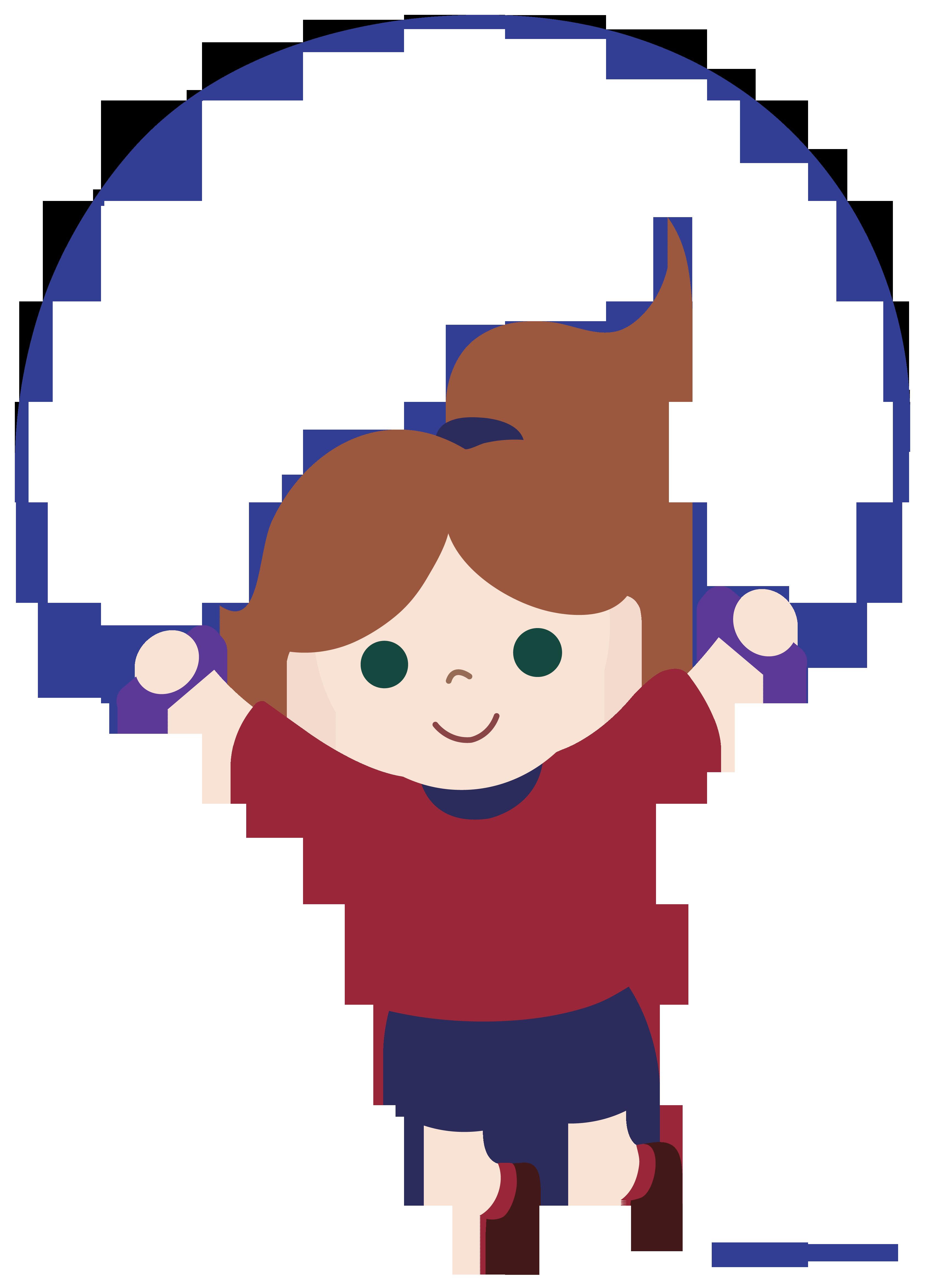 Exercising clipart jumping jacks. Girl rope clip art