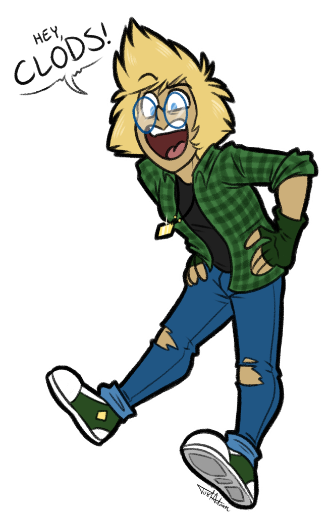 Nerd clipart jumping. By justautumn on deviantart
