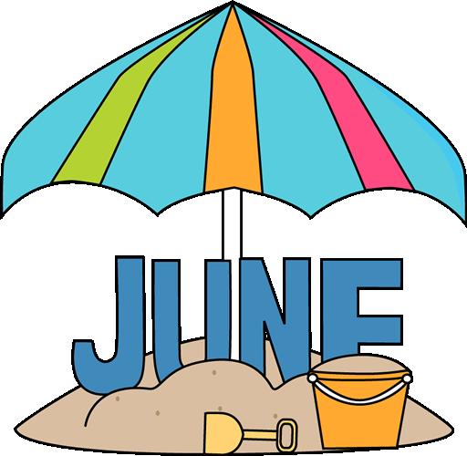Clip art images month. June clipart