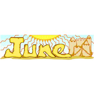 June clipart cute. Cliparts png clipartix