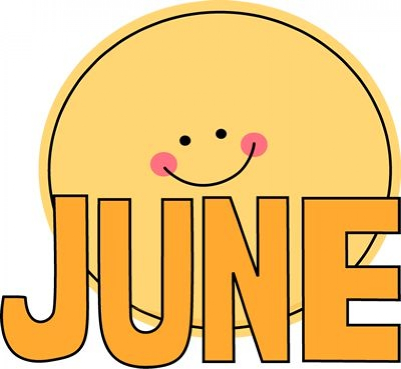 Free june cliparts download. Words clipart month