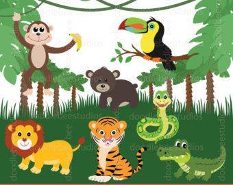Jungle clipart. The best art images