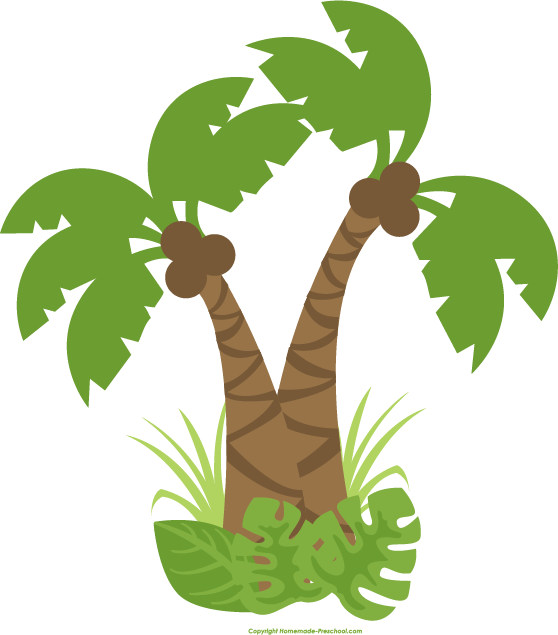 Jungle clip art free. Outside clipart plant