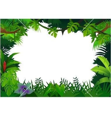 Free printable clip art. Jungle clipart