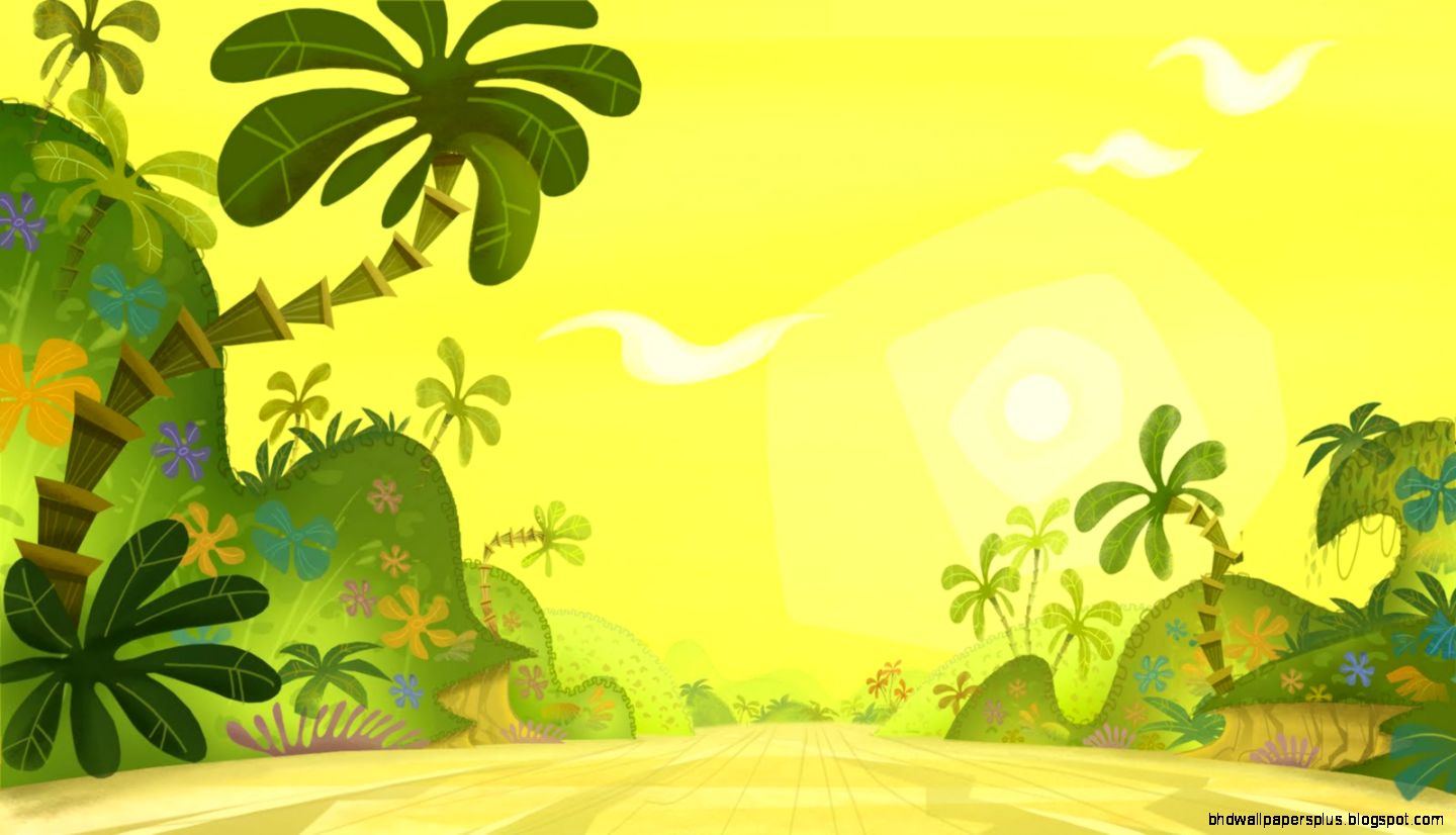 collection of background. Jungle clipart
