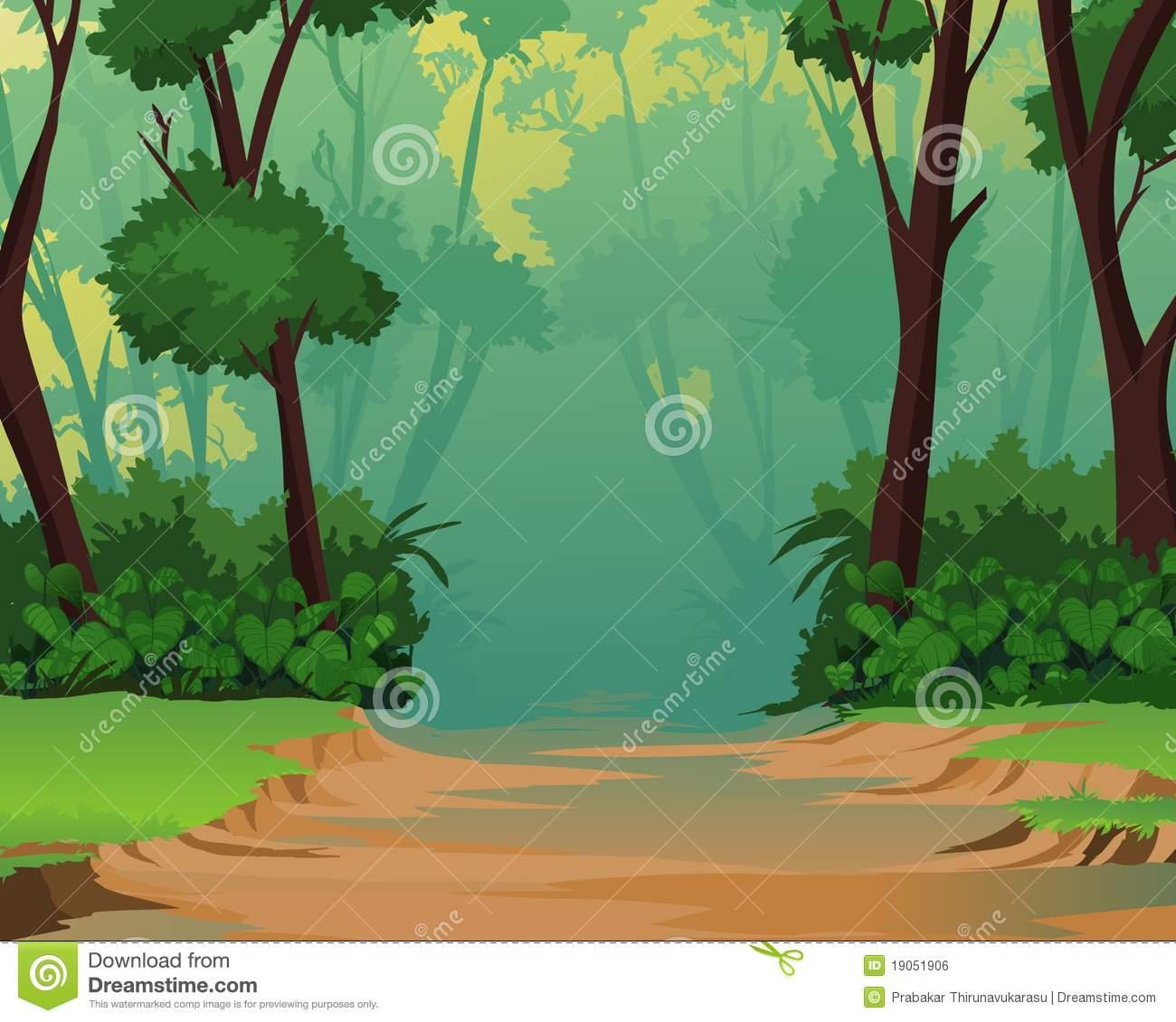 Jungle clipart. Background