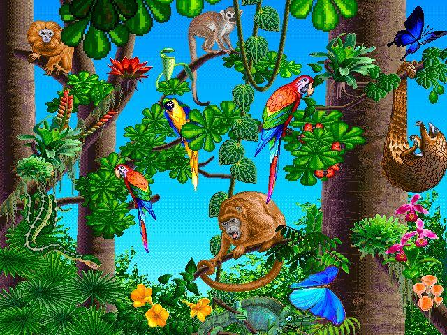 best clip art. Jungle clipart