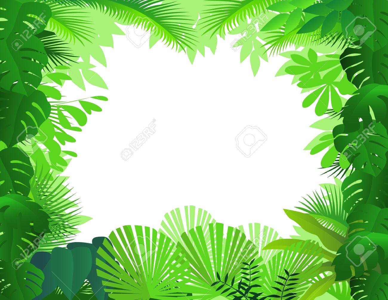 Jungle landscape background scene - Download Free Vectors, Clipart Graphics  & Vector Art