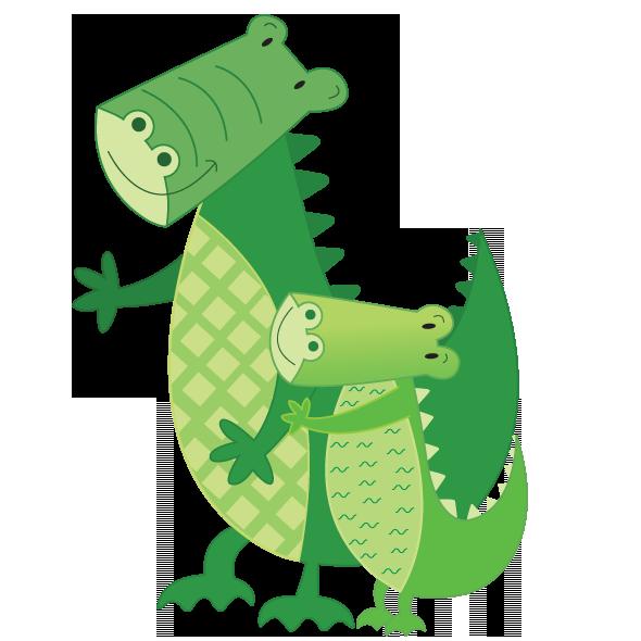 Jungle clipart crocodile. Mcneil claire crystall art