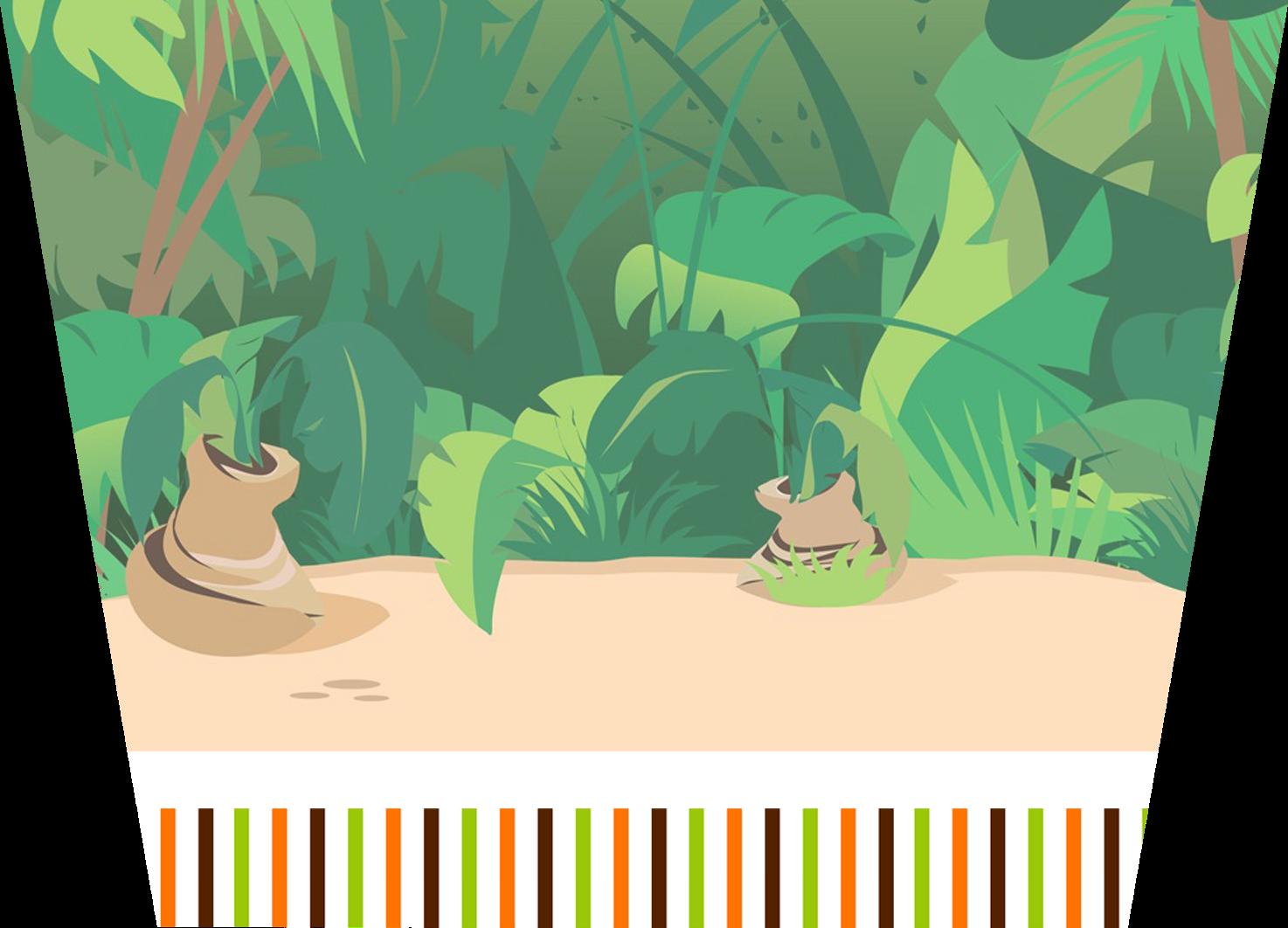 Jungle clipart flora and fauna. Desktop wallpaper clip art