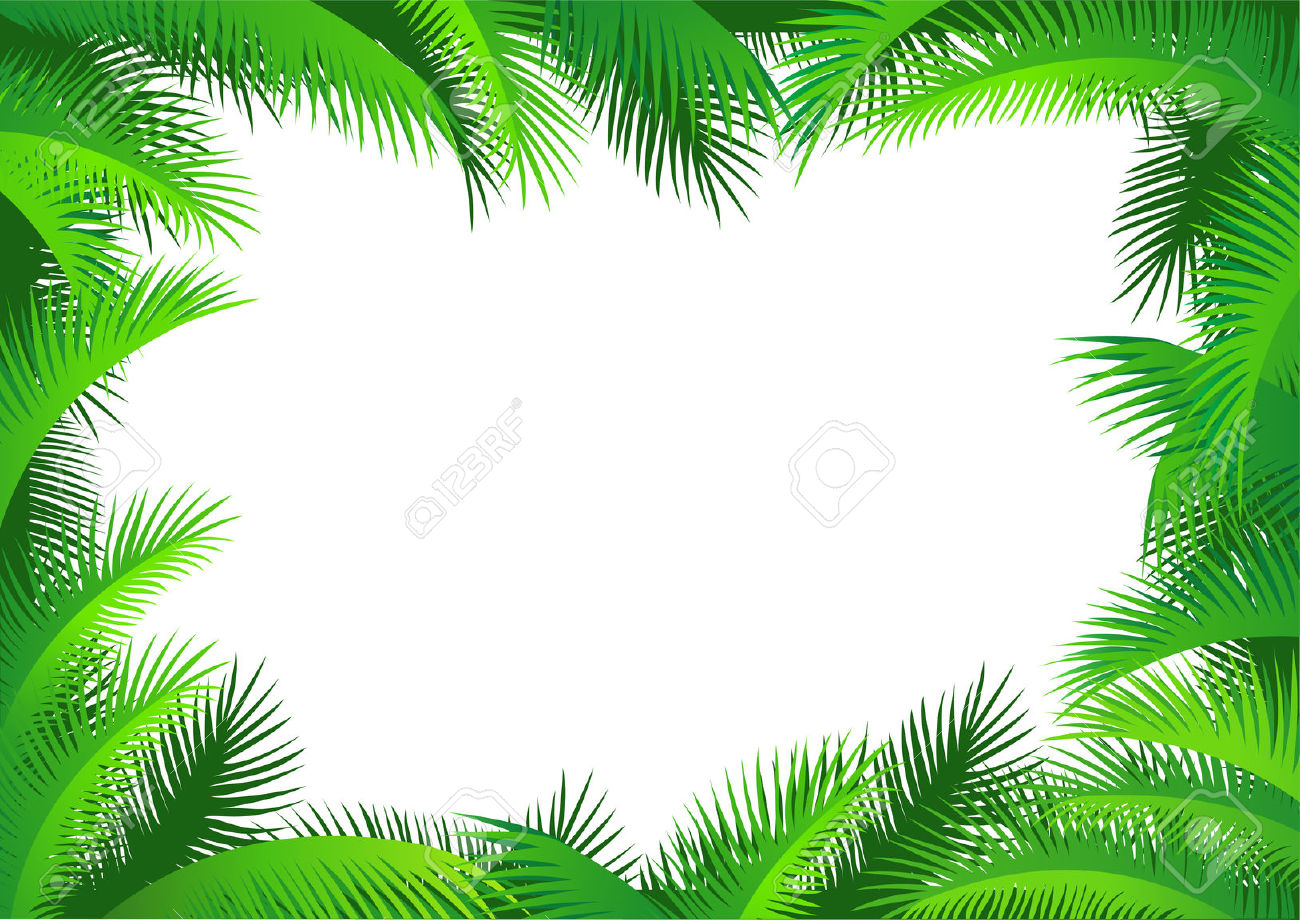 Free cliparts frames download. Jungle clipart frame