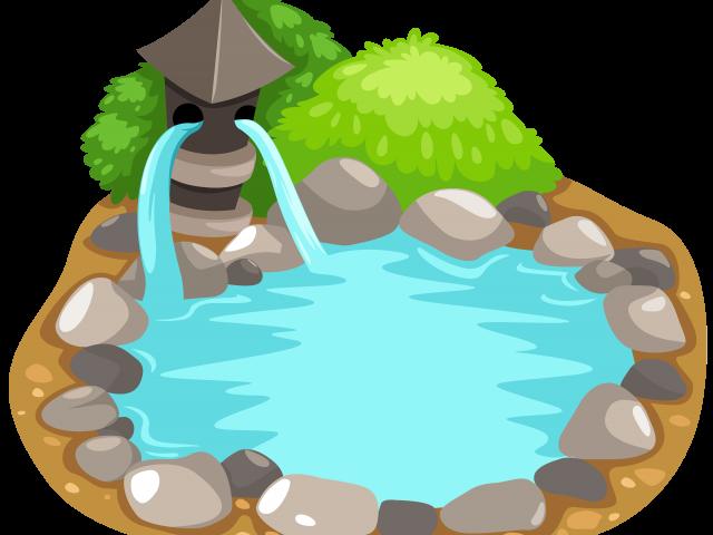 jungle clipart pond