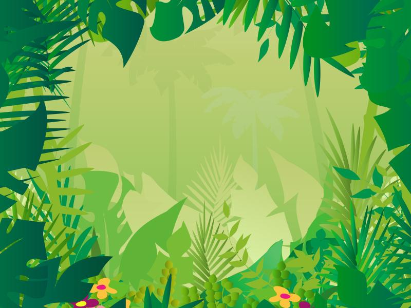 Jungle clipart powerpoint. Safari background theme still