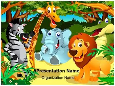 Jungle clipart powerpoint. Template is one of